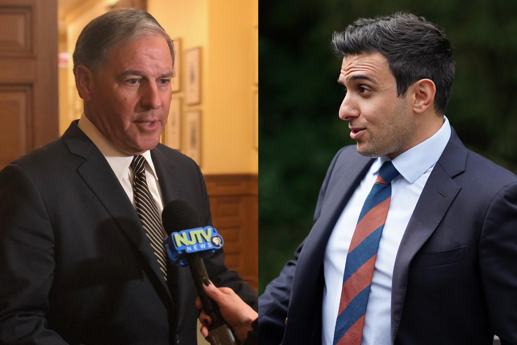 Senate race pits veteran GOP leader against young Democratic mayor